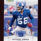 2008 Score Football Card #213 Antonio Pierce - New York Giants