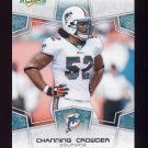 2008 Score Football Card #165 Channing Crowder - Miami Dolphins