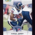 2008 Score Football Card #118 Ahman Green - Houston Texans