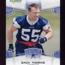 2008 Score Football Card #086 Zach Thomas - Dallas Cowboys