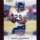 2008 Score Football Card #050 Adrian Peterson - Chicago Bears