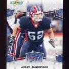 2008 Score Football Card #035 John DiGiorgio RC - Buffalo Bills