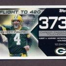 2008 Topps Football Brett Favre Collection #BF373 Brett Favre - Green Bay Packers