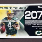 2008 Topps Football Brett Favre Collection #BF207 Brett Favre - Green Bay Packers