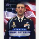 2008 Topps Football Armed Forces Fans Of The Game #AFFWT Wyat Tomlinson - Kansas City Chiefs