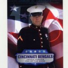 2008 Topps Football Armed Forces Fans Of The Game #AFFJL James Lenihan - Cincinnati Bengals