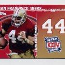 2008 Topps Football Dynasties #DYNTR Tom Rathman - San Francisco 49ers