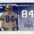 2008 Topps Football Dynasties #DYNJN Jay Novacek - Dallas Cowboys