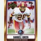2008 Topps Football Hall Of Fame Class Of 2008 #HOFDG Darrell Green - Washington Redskins