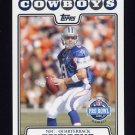 2008 Topps Football #297 Tony Romo PB - Dallas Cowboys