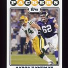 2008 Topps Football #211 Aaron Kampman - Green Bay Packers