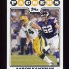 2008 Topps Football #211 Aaron Kampman - Green Bay Packers