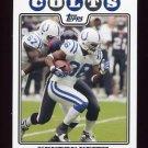 2008 Topps Football #097 Kenton Keith - Indianapolis Colts