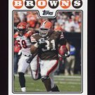 2008 Topps Football #089 Jamal Lewis - Cleveland Browns