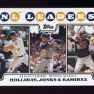 2008 Topps Baseball #326 Matt Holliday / Chipper Jones / Hanley Ramirez
