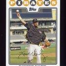 2008 Topps Baseball #278 Xavier Nady - Pittsburgh Pirates