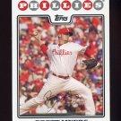 2008 Topps Baseball #262 Brett Myers - Philadelphia Phillies