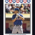 2008 Topps Baseball #254 David Murphy - Texas Rangers