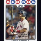 2008 Topps Baseball #064 Mike Lowell - Boston Red Sox