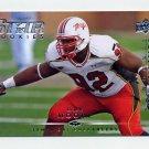 2008 Upper Deck Rookie Exclusives Football #RE66 Dre Moore - Tampa Bay Buccaneers
