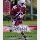 2008 Upper Deck Rookie Exclusives Football #RE55 Dominique Rodgers-Cromartie - Cardinals