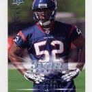 2008 Upper Deck Rookie Exclusives Football #RE50 Xavier Adibi - Houston Texans