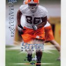 2008 Upper Deck Rookie Exclusives Football #RE37 Martin Rucker - Cleveland Browns