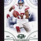 2008 Donruss Threads Retail Green #081 Plaxico Burress - New York Giants 039/200