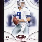 2008 Donruss Threads Retail Red #138 Tony Romo - Dallas Cowboys