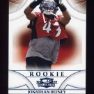 2008 Donruss Threads Retail Blue #195 Jonathan Hefney RC - Tampa Bay Buccaneers 251/350