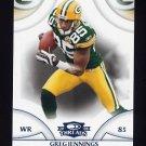 2008 Donruss Threads Retail Blue #049 Greg Jennings - Green Bay Packers 234/350