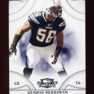 2008 Donruss Threads Football #116 Shawne Merriman - San Diego Chargers