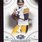 2008 Donruss Threads Football #103 Ben Roethlisberger - Pittsburgh Steelers