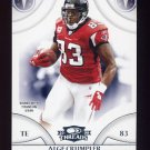2008 Donruss Threads Football #090 Alge Crumpler - Tennessee Titans