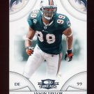 2008 Donruss Threads Football #022 Jason Taylor - Miami Dolphins