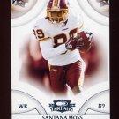 2008 Donruss Threads Football #014 Santana Moss - Washington Redskins