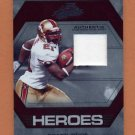 2008 Absolute Memorabilia Absolute Heroes Materials Prime #AH23 Frank Gore Game-Used JSY Patch 29/50