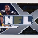 2008 SPx Rookie Materials NFL Letters Dual 199 #RMLS Limas Sweed Dual Game-Used Jerseys 190/199