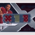 2008 SPx Rookie Materials Jersey Number Dual 175 #RMDT Devin Thomas Dual Game-Used Jersey /175