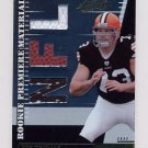 2007 Absolute Memorabilia #253 Joe Thomas RPM RC - Browns Dual Game-Used Jersey and Football /849