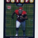 2008 Topps Chrome Football Xfractors #TC228 Glenn Dorsey RC - Kansas City Chiefs