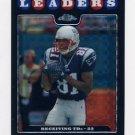 2008 Topps Chrome Football Xfractors #TC130 Randy Moss LL - New England Patriots
