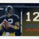 2008 Topps Chrome Football Dynasties #DYN-TBR Terry Bradshaw - Pittsburgh Steelers