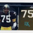 2008 Topps Chrome Football Dynasties #DYN-JG Joe Greene - Pittsburgh Steelers