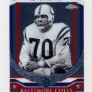 2008 Topps Chrome Honor Roll #HR-AD Art Donovan - Baltimore Colts