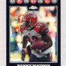 2008 Topps Chrome Refractors #TC045 Kenny Watson - Cincinnati Bengals