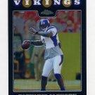 2008 Topps Chrome Refractors #TC030 Tarvaris Jackson - Minnesota Vikings