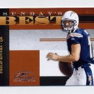 2008 Donruss Classics Football Sunday's Best #SB-05 Philip Rivers - San Diego Chargers 0979/1000
