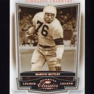 2008 Donruss Classics Timeless Tributes Bronze #107 Marion Motley - Cleveland Browns 144/250
