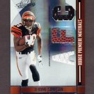 2008 Absolute Memorabilia RPM AFC/NFC #263 Jerome Simpson RC - Game-Used Dual JSY and Football /199